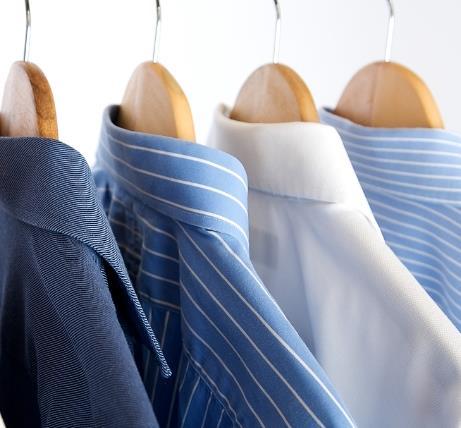 芬芳干洗衬衫