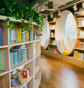 悦读奇缘亲子图书馆门店2