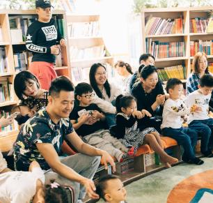 悦读奇缘亲子图书馆学员3