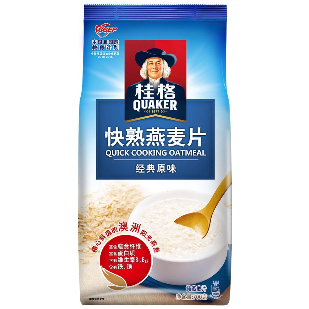 桂格燕麦片品质