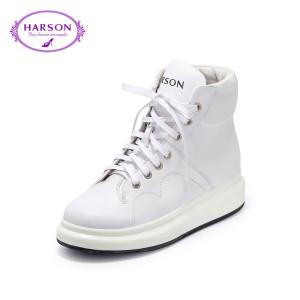 哈森休閑皮鞋