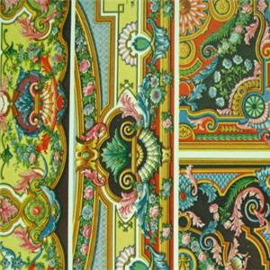 文娜民族風壁畫
