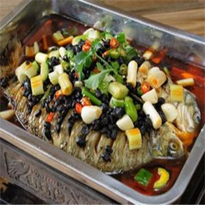 贡鱼烤全鱼