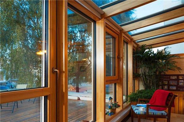森鷹鋁包木門窗美觀