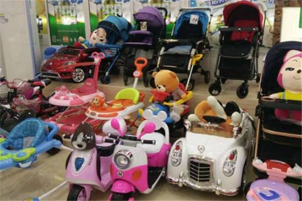 爱施宝贝母婴生活馆产品丰富