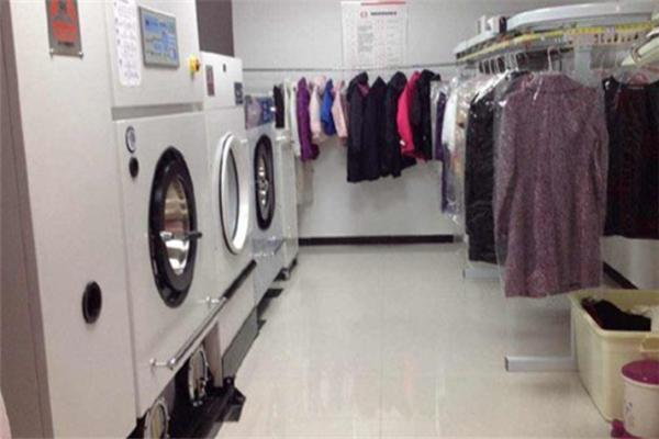 綠環干洗干凈整潔
