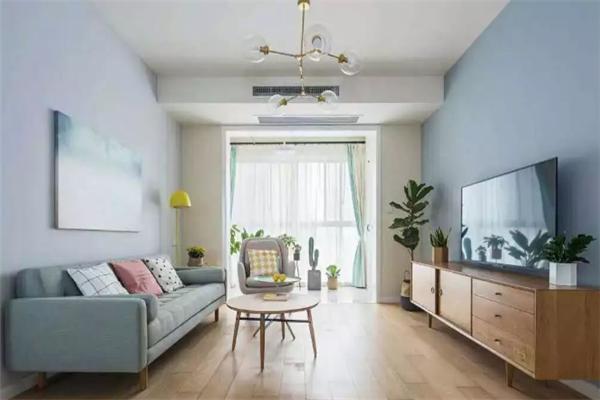 蜂巢思维装饰客厅