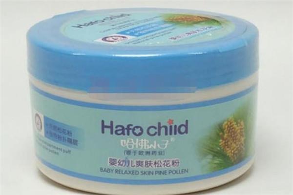 哈佛小子婴儿洗护用品粉