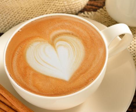 哈斯咖啡爱心拉花