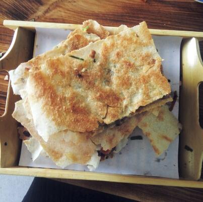 嘎嘣脆菜煎饼好吃