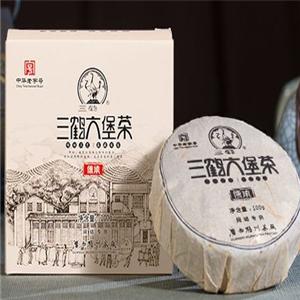 三鶴六堡茶茶葉