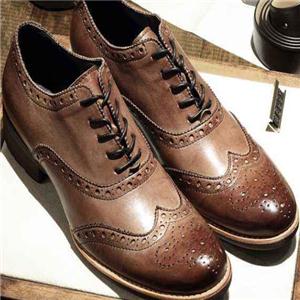 布洛克皮鞋健康