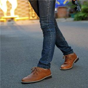 布洛克皮鞋舒適