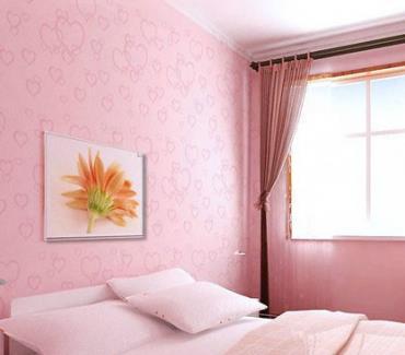 恒美墙艺粉色