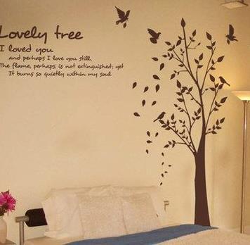 恒美墙艺大树