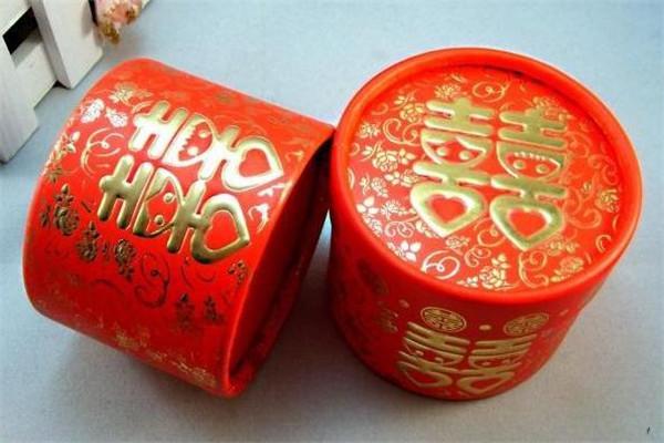 红娘喜铺喜糖盒子
