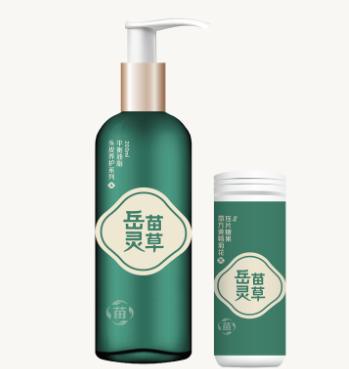 岳灵生发养发馆产品2