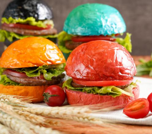 文房四堡火烤漢堡產品2