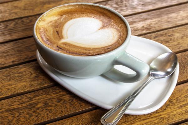 玖霸咖啡爱心