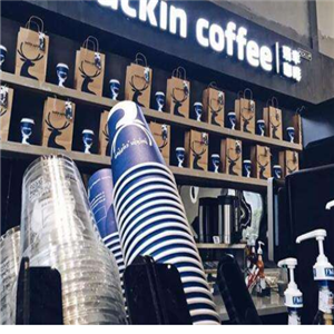 luckin咖啡紙杯