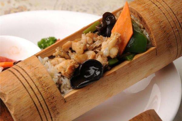 竹筒饭快餐