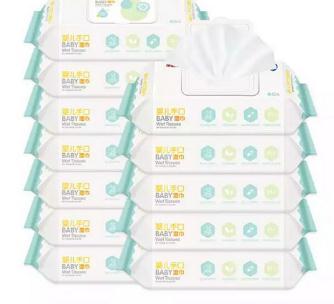 卡蕊婴儿纸巾多包
