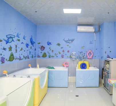 酷貝兒游泳館多個浴缸
