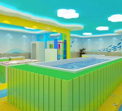 酷貝兒游泳館大池子