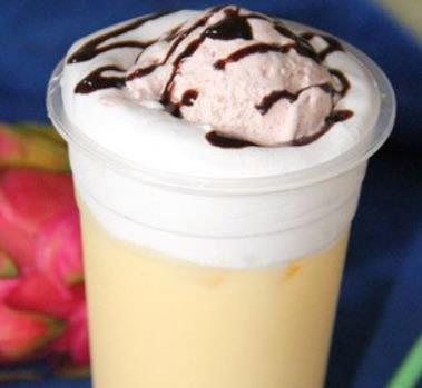 酷咖咖啡巧克力奶盖