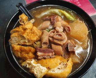 刘易手牛杂萝卜汤