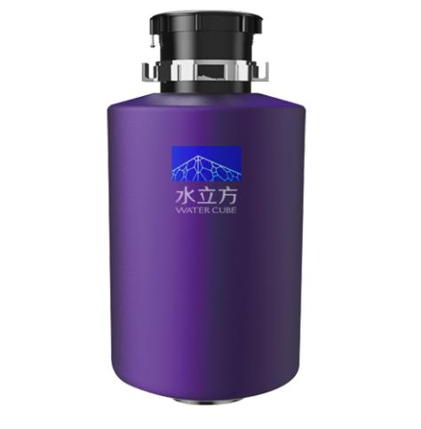 水立方智能垃圾處理器紫色主機