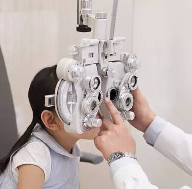 杰視愛兒康健眼科視光門診測試