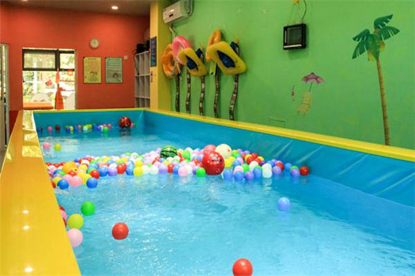 噗通噗通游泳館展示