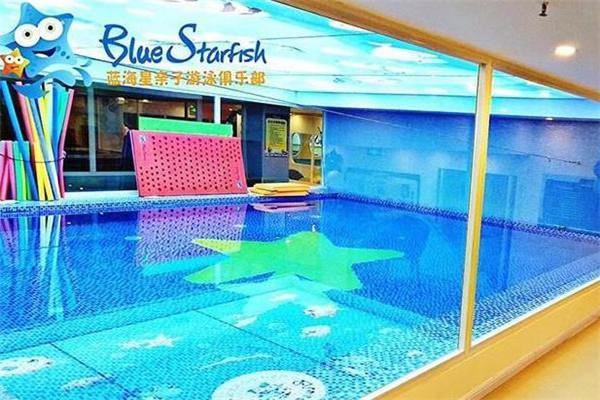 藍海星親子游泳俱樂部泳池