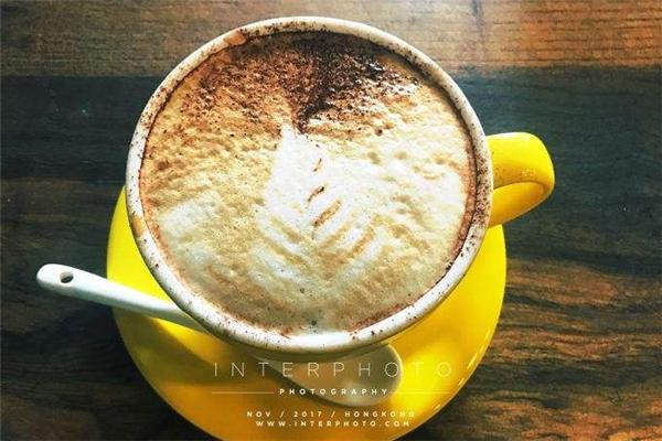 拾年咖啡展示
