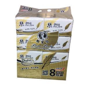 熊寶貝紙巾八連包