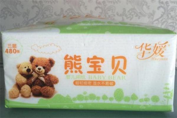 熊寶貝紙巾原料