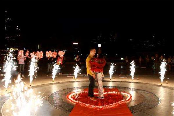 龙海求婚策划公司多人