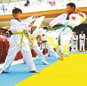 森磊跆拳道教学