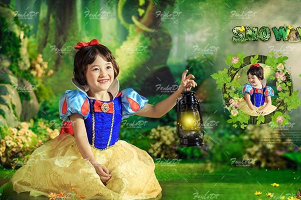 迪士尼儿童摄影加盟海报