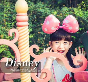迪士尼儿童摄影宣传相册