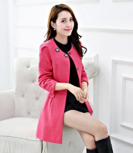 非凡大小姐女裝粉紅外套