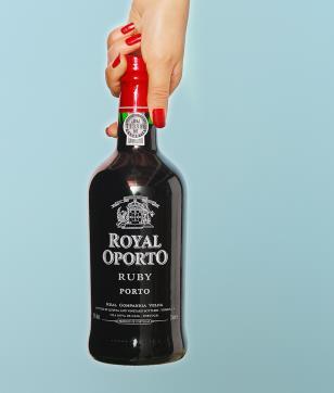 酥红波特酒招牌红酒