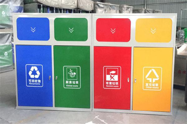 美好生活垃圾分類設備方便