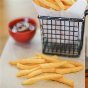 超長薯條可口