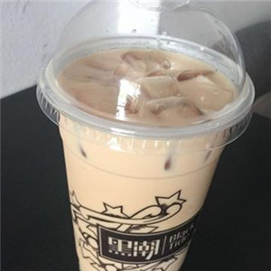 黑潮奶茶店展示