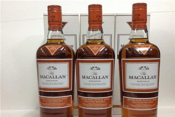 麦卡伦威士忌产品