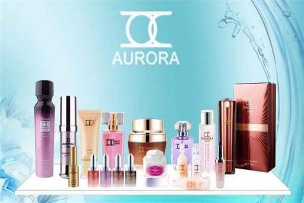 奧若拉化妝品展示