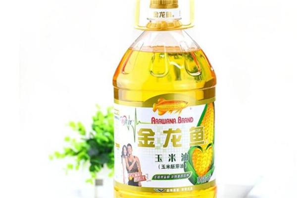金龍魚玉米油展示