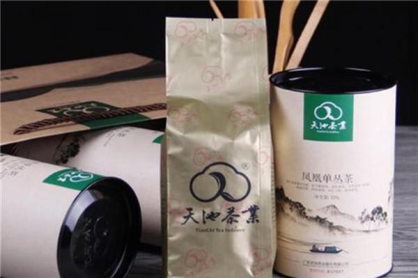 天池茶业展示